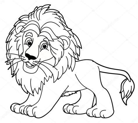aslan boyama sayfasi stok foto  agaes