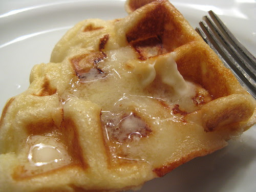 Apple Waffles