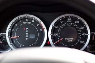 2011 Acura TSX Sport Wagon gauges