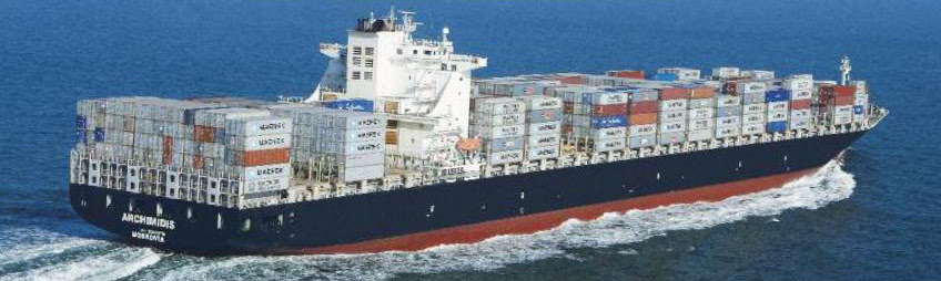 Capital Product Partners MV Archimidis containership BIG