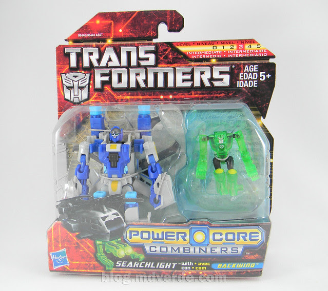 Transformers Searchlight Power Core Combiners - caja
