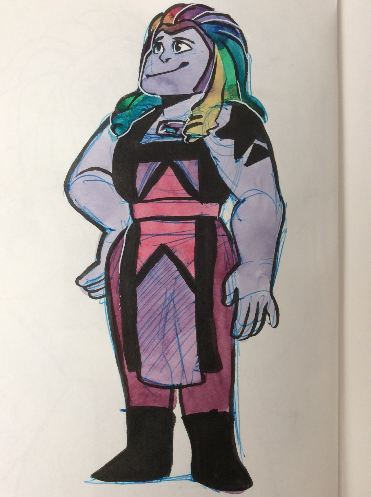 I love bismuth so much and I hope she gets a redemption arc