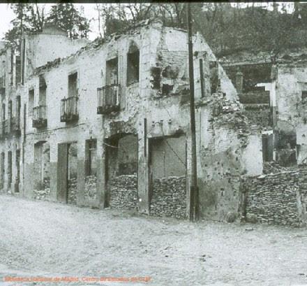 Restos de la Posada de la Sangre, Toledo (España)