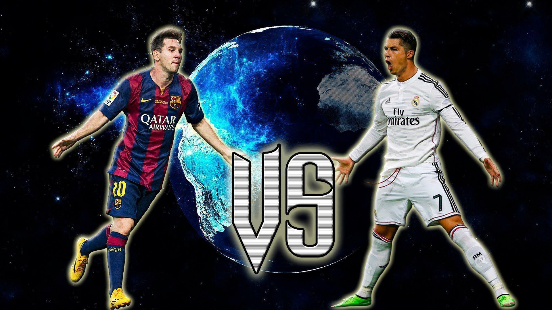 Cristiano Ronaldo Vs Lionel Messi 2016 Wallpapers Wallpaper Cave