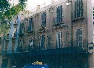 Palacio Meoro Santas Eulalia Murcia 300x217 La familia D´Estoup y la destrucción del Palacio Meoro en Santa Eulalia