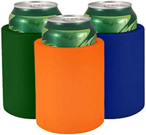 Blank Foam Can Coolers   Custom Koozies   Cheap
