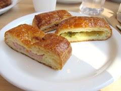 Savory Croissants at La Monarca