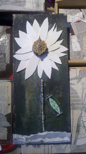the jesus and daisychain flower by bridgetDginley