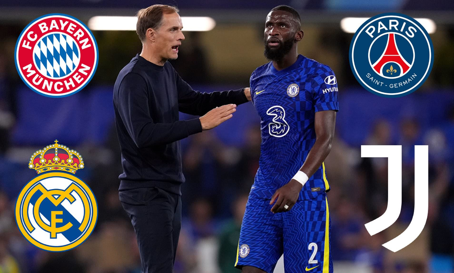 Chelsea face prospect of losing Antonio Rudiger for free next summer despite £125,000-a-week offer
