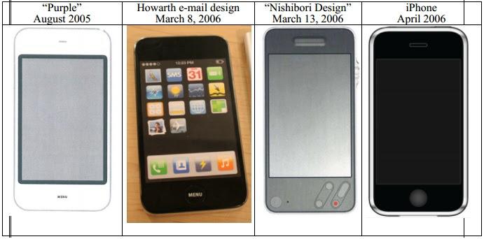 Os protótipos de iPhone da Apple em ordem cronológica (Foto: Reprodução)
