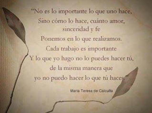 Madre Teresa De Calcuta 7 Frases En Imagenes La Vache Rose Espagnole