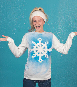 Make a Snowflake Long-Sleeve T-Shirt