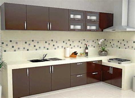 desain dapur minimalis bentuk l sederhana   desain rumah