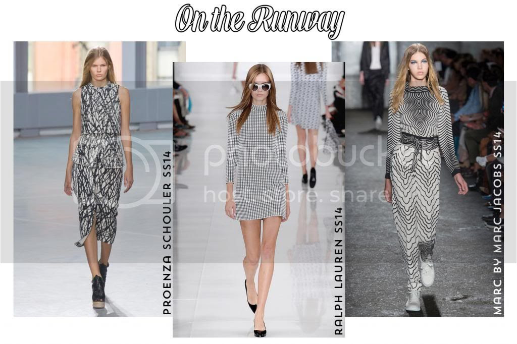SPRING TREND REPORT: Bold Black and White