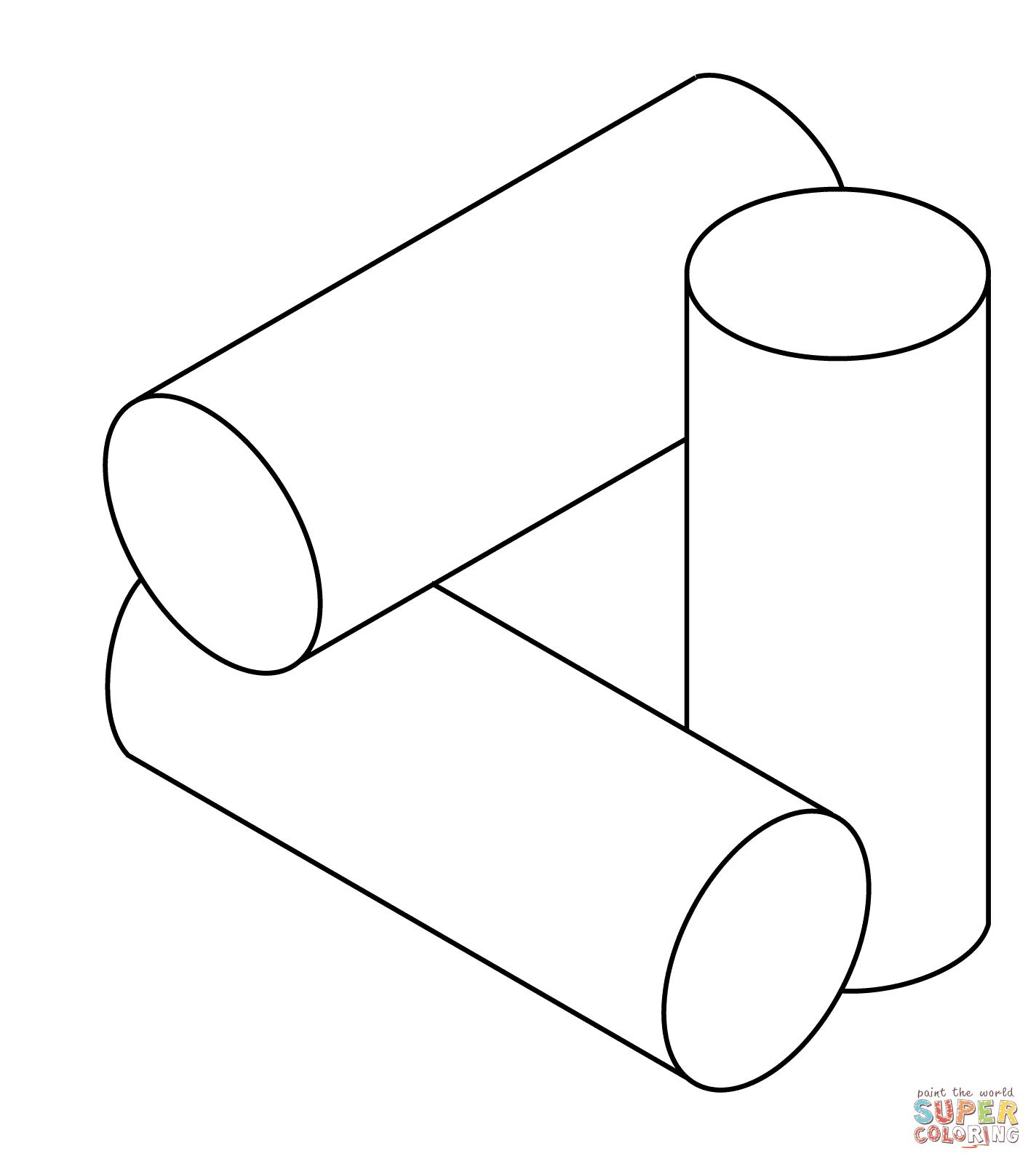 Ausmalbild: Optische Täuschung 44 | Ausmalbilder kostenlos ...