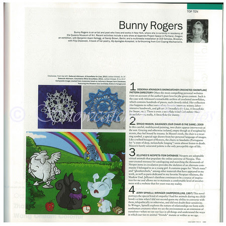 Page 101 Art Forum Magazine, January 2014