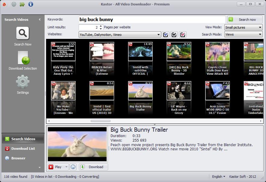 kastorSoft  All Video Downloader