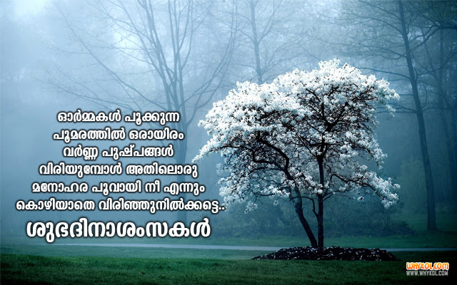Best Good Morning Wishes In Malayalam Whykol