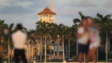 WEST PALM BEACH, FL - FEBRUARY 11:  The Mar-a-Lago Resort is seen where President Donald Trump is hosting Japanese Prime Minister Shinzo Abe on February 11, 2017 in West Palm Beach, Florida. The two are scheduled to get in a game of golf as well as discuss trade issues.  (Photo by Joe Raedle/Getty Images)