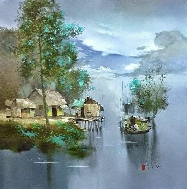 художник Dang Van Can картины – 12