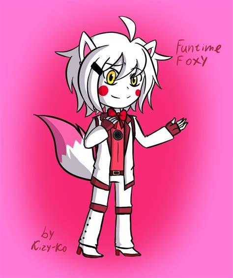 chibi funtime foxy  kizy ko  deviantart fnaf