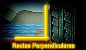 Rectas Perpendiculares, Teoremas y Problemas.