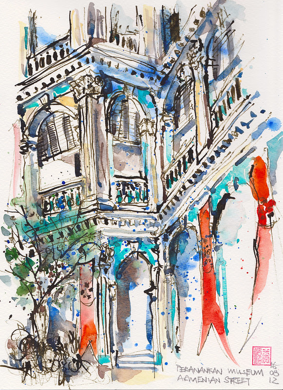 Peranakan Museum Facade
