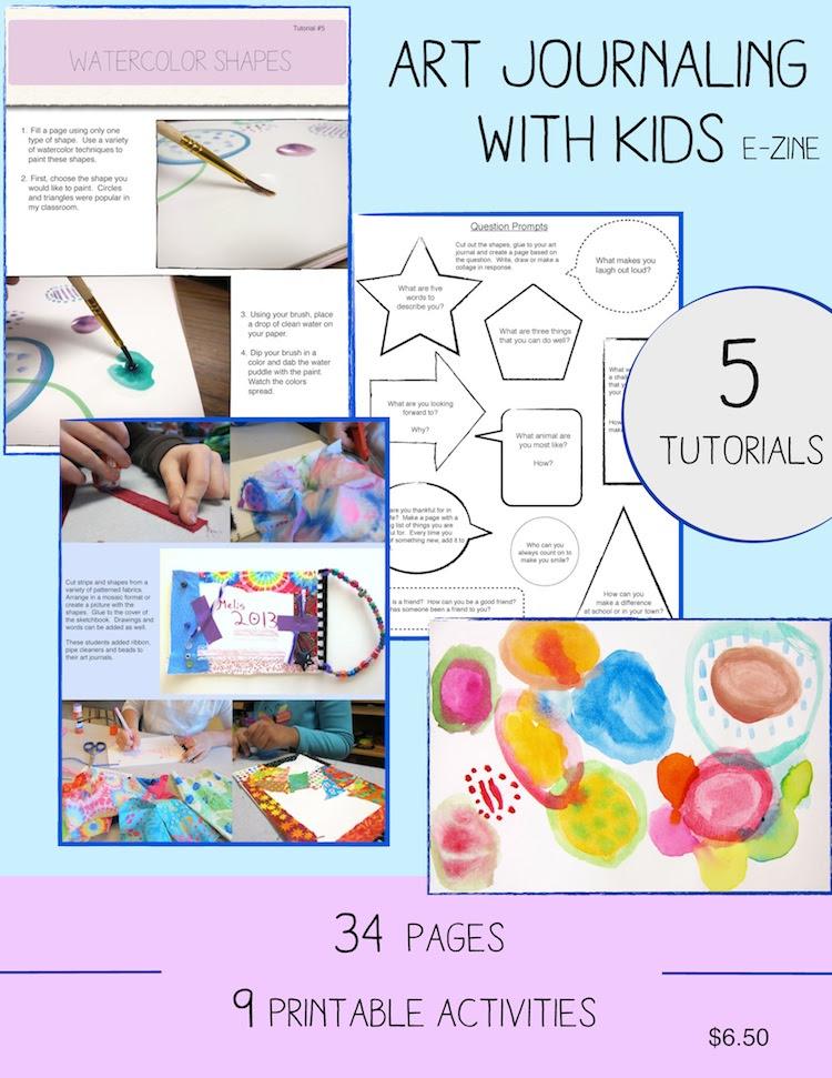 Art Journaling with Kids