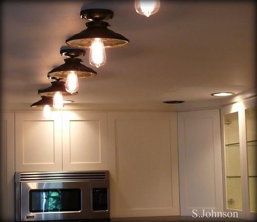 Designer Junk Finder: Kitchen Remodel Vintage Lighting