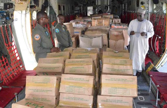 FG Donates Made-In-Nigeria Drugs To Cameroon's Train Accident Victims