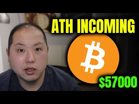BITCOIN INCHES CLOSER TO ALL-TIME HIGH | SHATTERS $57000 | Blockchained.news Crypto News LIVE Media