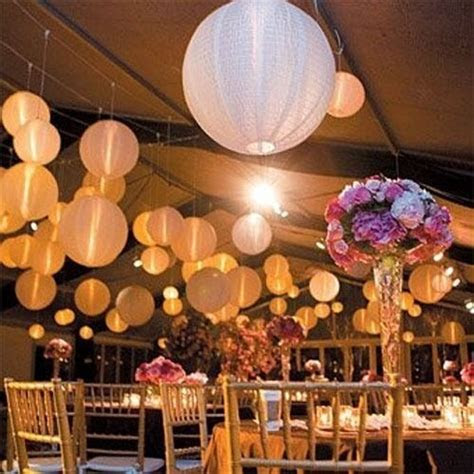 New Colorful Round Paper Lanterns Wedding Ball Decoration