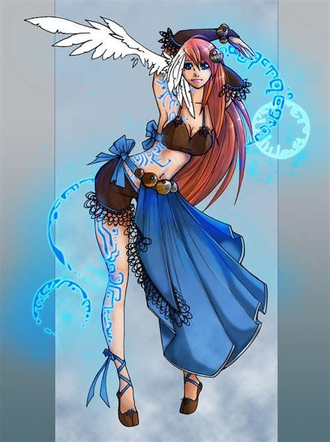 blue magick  white nephilim  deviantart