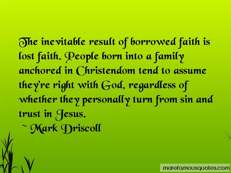 Faith Is Lost Quotes Top 47 Quotes About Faith Is Lost From Famous