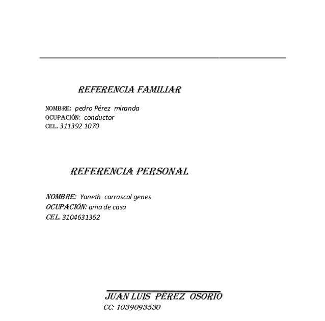 Carta De Recomendacion Referencia Laboral I Carta De
