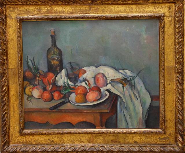 Paul CÉZANNE, Still Life with Onions, 1896-1898