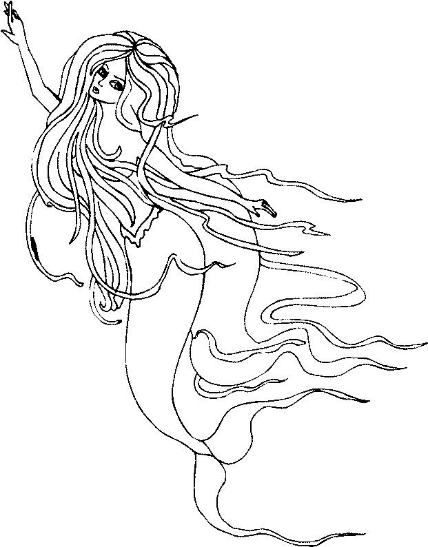 Disegni Di Sirena Colorate Da Stampare Coloratutto Website