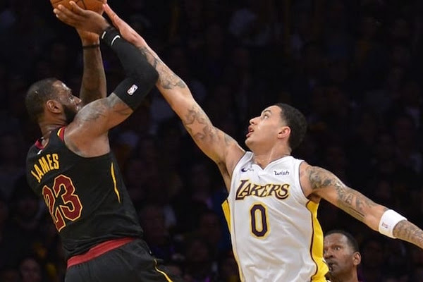 1d9ed9736f7 Kyle Kuzma Believes LeBron James Is 'Perfect Fit' With Young Lakers
