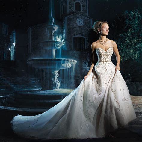 Disney Wedding Dresses for Fairytale Weddings   hitched.co.uk