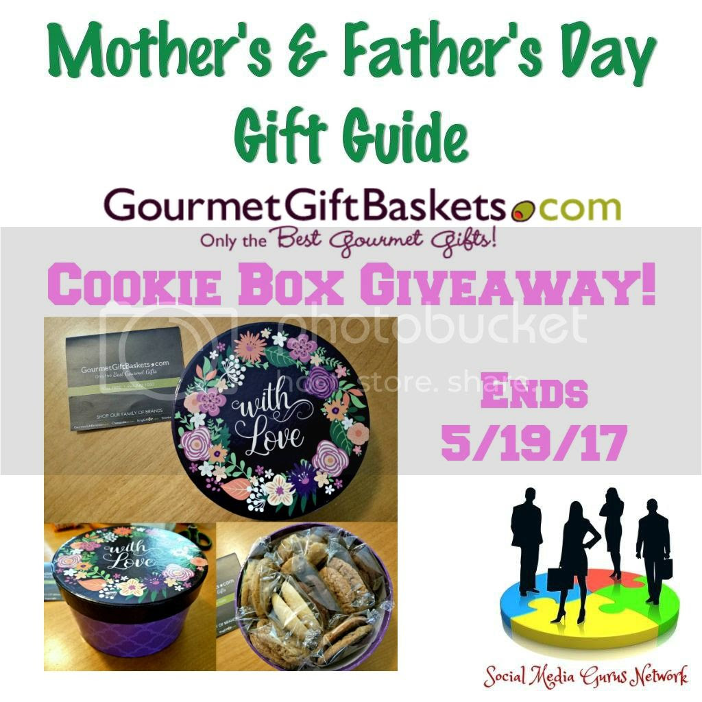 Enter the Cookie Box Giveaway. Ends 5/19