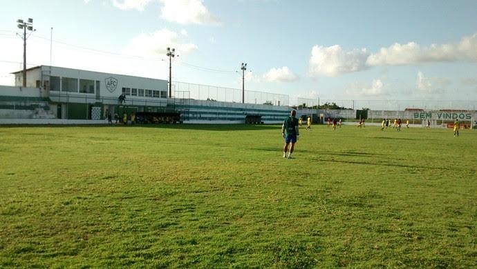 Ninho do Periquito, estádio do Alecrim (Foto: Andrei Torres/Divulgação)