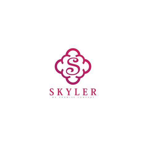 logo design contests skyler clothing logo design