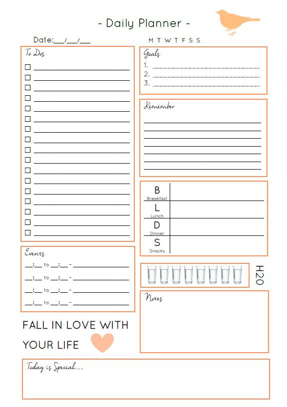 1000+ ideas about Daily Planners on Pinterest | Planners, Filofax ...