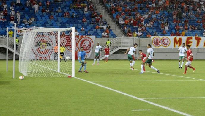 América-RN x Santa Cruz-RN, na Arena das Dunas, pelo Campeonato Potiguar (Foto: Marcelo Montenegro/Futebol Potiguar)