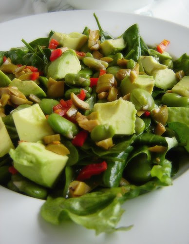 Green Olive & Broad Bean Salad 3