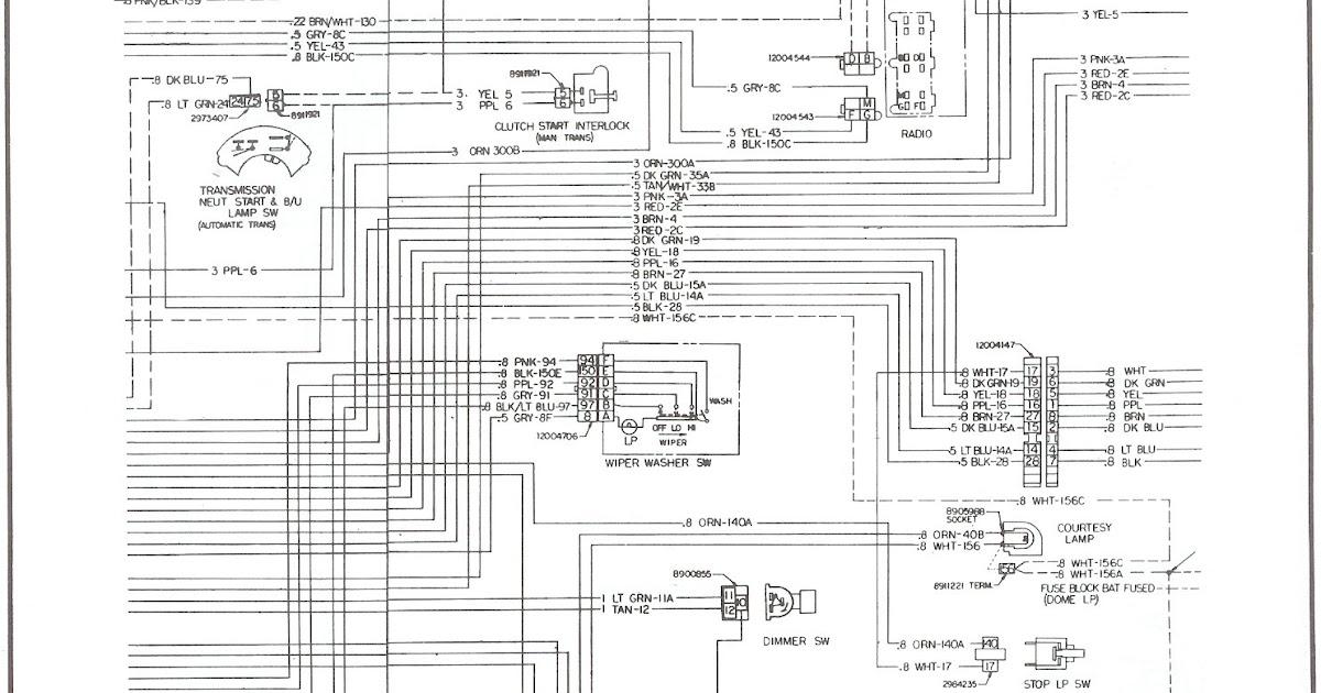 1976 Chevrolet G20 Wiring Diagram