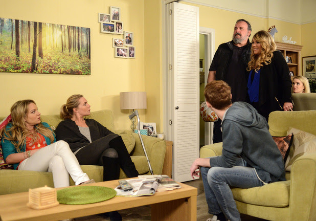 Everyone is stunned when Sharon announces that Gordon is coming to stay.