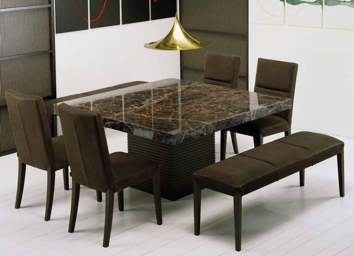 Get extraordinary fashionable look with 2018 marble dining tables  dining room tables, Dining Table
