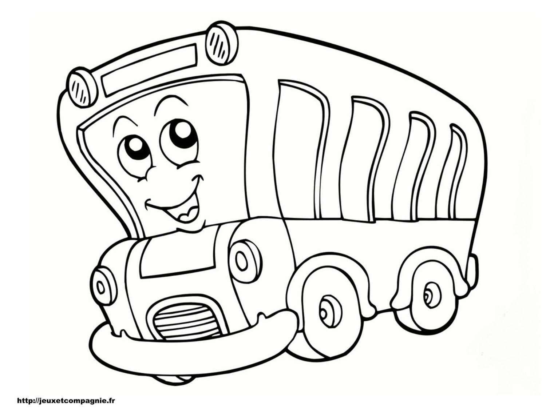 19 Dessins De Coloriage Autocar Imprimer S Lection De Dessins De Coloriage Autobus Imprimer Sur Laguerche