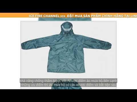 Tại sao nên sử dụng áo mưa bộ?